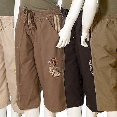 Jungen Shorts Kinder 3/4 kurze Freizeit Sommer Hose Kinder Bermuda Neu Art.D152