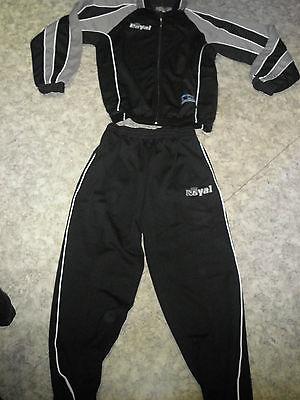Aktion ! Trainingsanzug HORN v. Royal, schwarz/grau Gr.S-XL