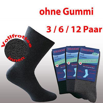 3 | 6 | 12 Thermosocken OHNE GUMMI 39 40 41 42 43 44 45 46 47 48 49 50 TOP !!!!!