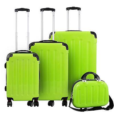 Polycarbonat Koffer Trolley Hartschalenkoffer - Reisekoffer Set Hartschale