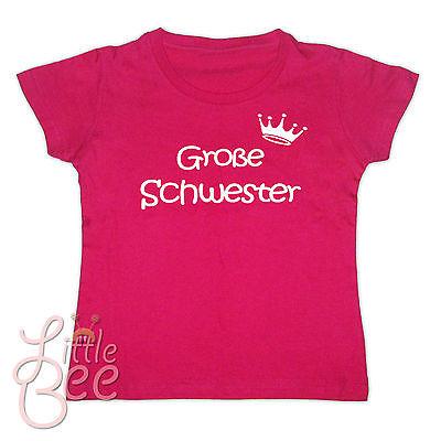 Girl-Shirt Große Schwester - Wahl: Motiv, Größe, Farbe * NEU *