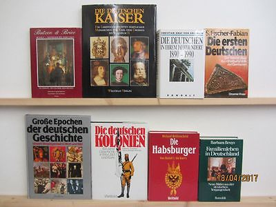 25 Bücher Bildbände Kunst Kultur Geschichte deutsche Geschichte