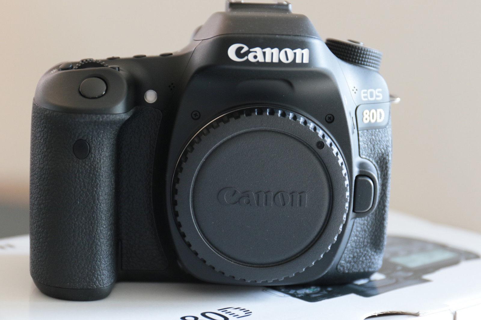 Canon EOS 80D  Gehäuse, wie NEU, fast volle Garantie!