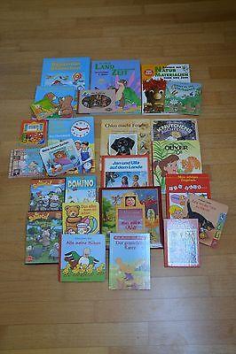 21 Kinderbücher + 2 DVD´s + 1 CD + Domino * Bücherpaket * Kleinkind