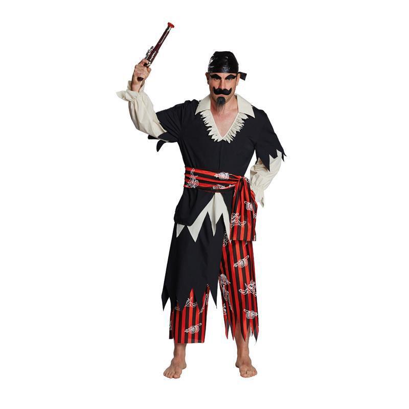 Pirat Gr. 48 - 60 Karneval Fasching Verkleidung Mottoparty Kostüm Piratenkostüm