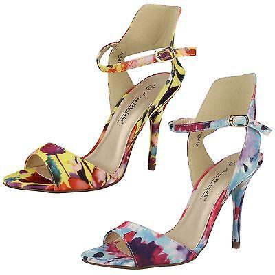 Ladies Anne Michelle Floral Fashion Heels