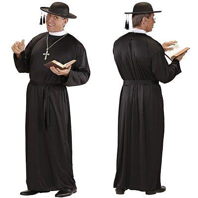 PATER Pfarrer Dominik Priester Herren Kostüm Karneval Fasching Verkleidung