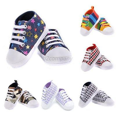 0-18M Baby Kids Unisex Boys Girl Various Style Soft Sole First Walkers Shoe B91