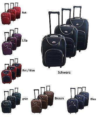 Reisekoffer Trolly Koffer Kofferset  SET XL / L / M in 7 Farben NEU !!!