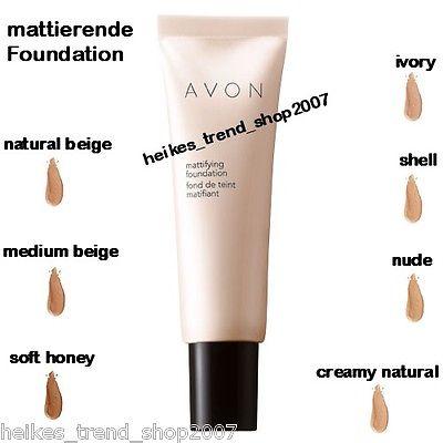 Avon mattierende Foundation 30ml NEU  Farbwahl  für einen matten Teint