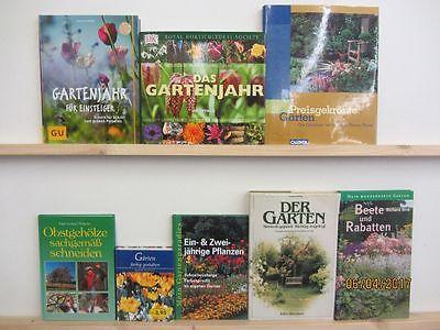 27 Bücher Garten gärtnern Gartengestaltung Gartenpflege Gartenkunst