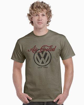 Air Cooled VW Transporter Beetle Bus Campervan Boxer Engine Putty T-Shirt