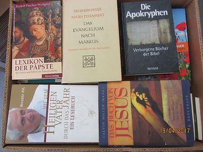 63 Bücher Theologie Religion Kirchengeschichte christliche Bücher