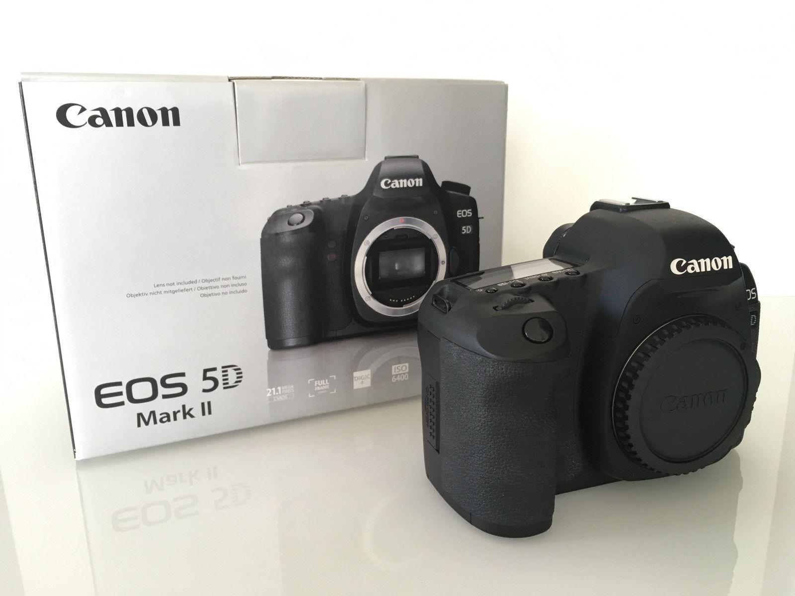 Canon EOS 5D Mark II Body - nur 9644 Auslösungen!
