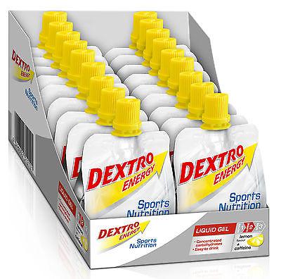Dextro Energy Liquid Gel Box 18 Beutel 60ml *6 Sorten/auch mischbar* BONUS ab 2