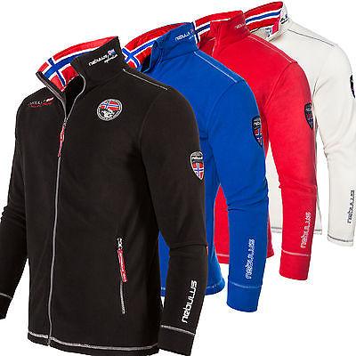 Nebulus Fleecejacke EXPLORE, stylische Jacke, Fleece, Damen/Herren/Kinder (T001)