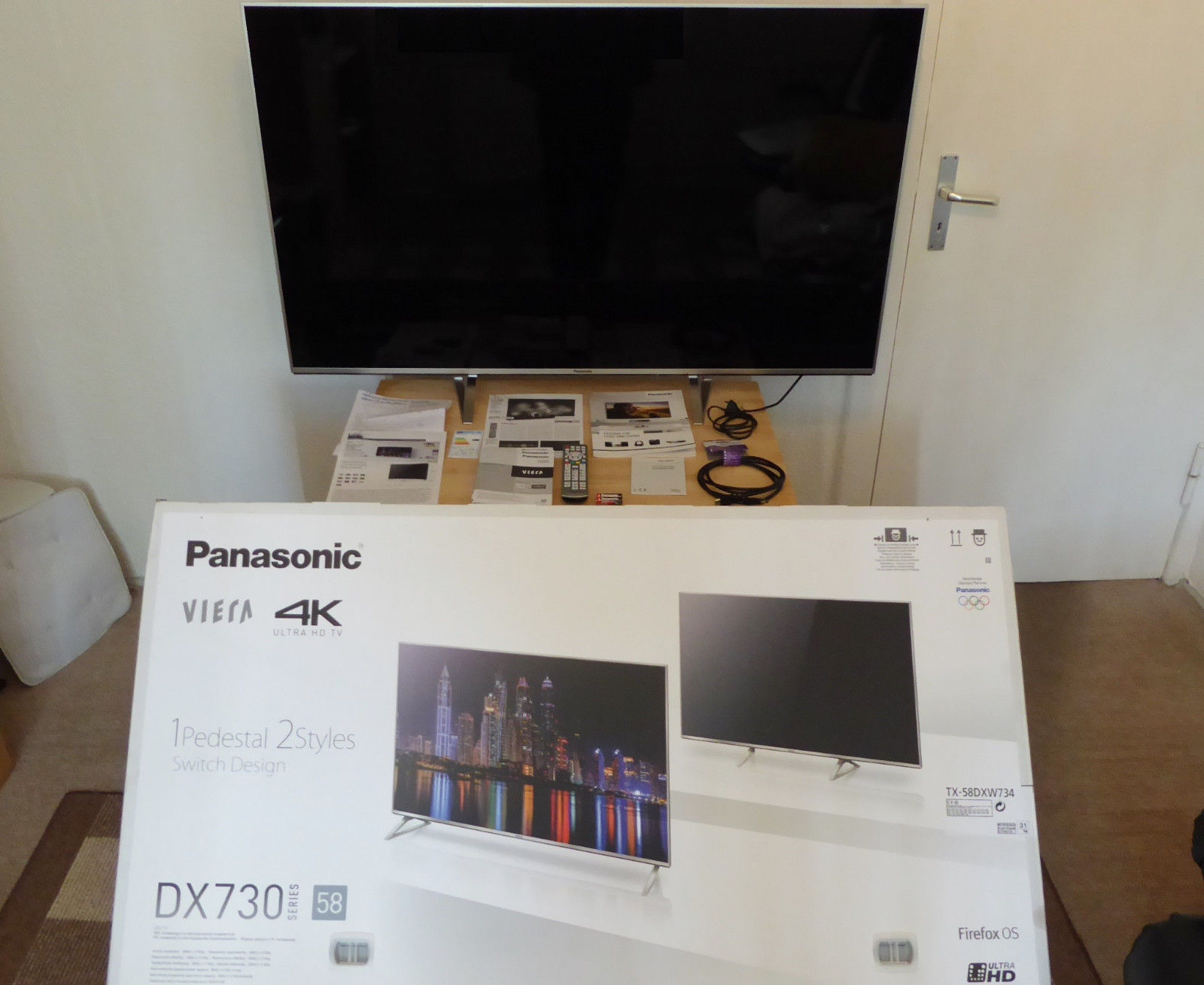 Panasonic TX-58DXW734 LED LCD 4K UHD Smart TV,146cm,58