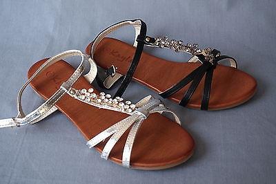 sandalen sandales sandaletten sandalias strass sandals sandali sandálias