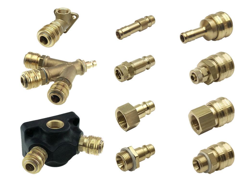 Druckluftkupplung, Kupplungsstecker, Schnellkupplung, Luftweiche, NW7,2