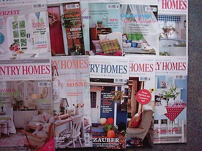 10 Zeitschriften Country Homes