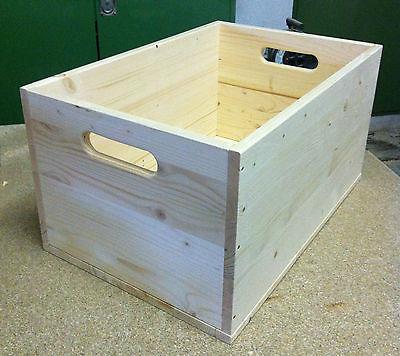 Holzkiste Allzweckkiste verschiedene Maße Spielzeugkiste Holzbox Fichte Handarbe