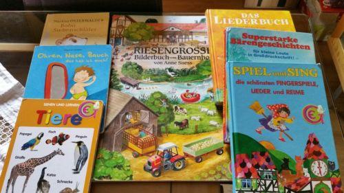 Buchpaket Kinderbücher zum Vorlesen Bobo Siebenschläfer, Liederbuch u.v.a.