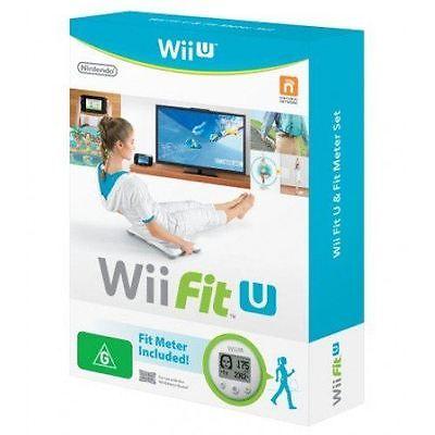Wii U Fit Software & Fit Meter Nintendo Green New