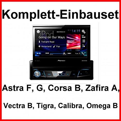 Komplett-Set Opel Astra F G Corsa B Zafira A Pioneer AVH-X7800BT Autoradio BT CD