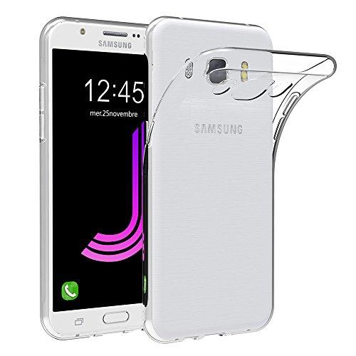 Samsung Galaxy J7 2016 Hülle Case, AICEK Galaxy J7 2016 Case Silikon Soft TPU Crystal Clear Premium Durchsichtig Handyhülle Schutzhülle Case Backcover Bumper Slimcase für Galaxy J7 2016