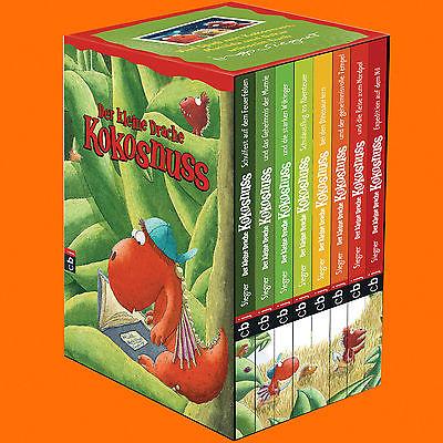 Ingo Siegner   Der kleine Drache Kokosnuss - Geschenkschuber   8 Bände (Buch)