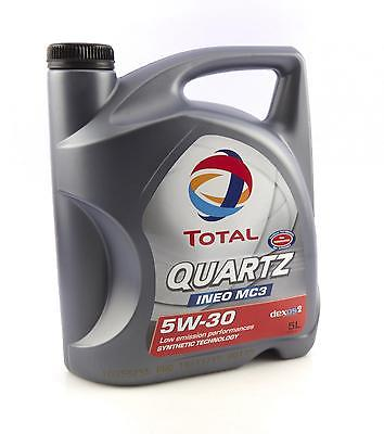 TOTAL 5W-30 157103 QUARTZ Ineo MC3 5L Motoröl 5W30