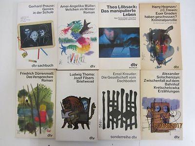 110 Bücher Taschenbücher weiße dtv Taschenbücher dtv Verlag
