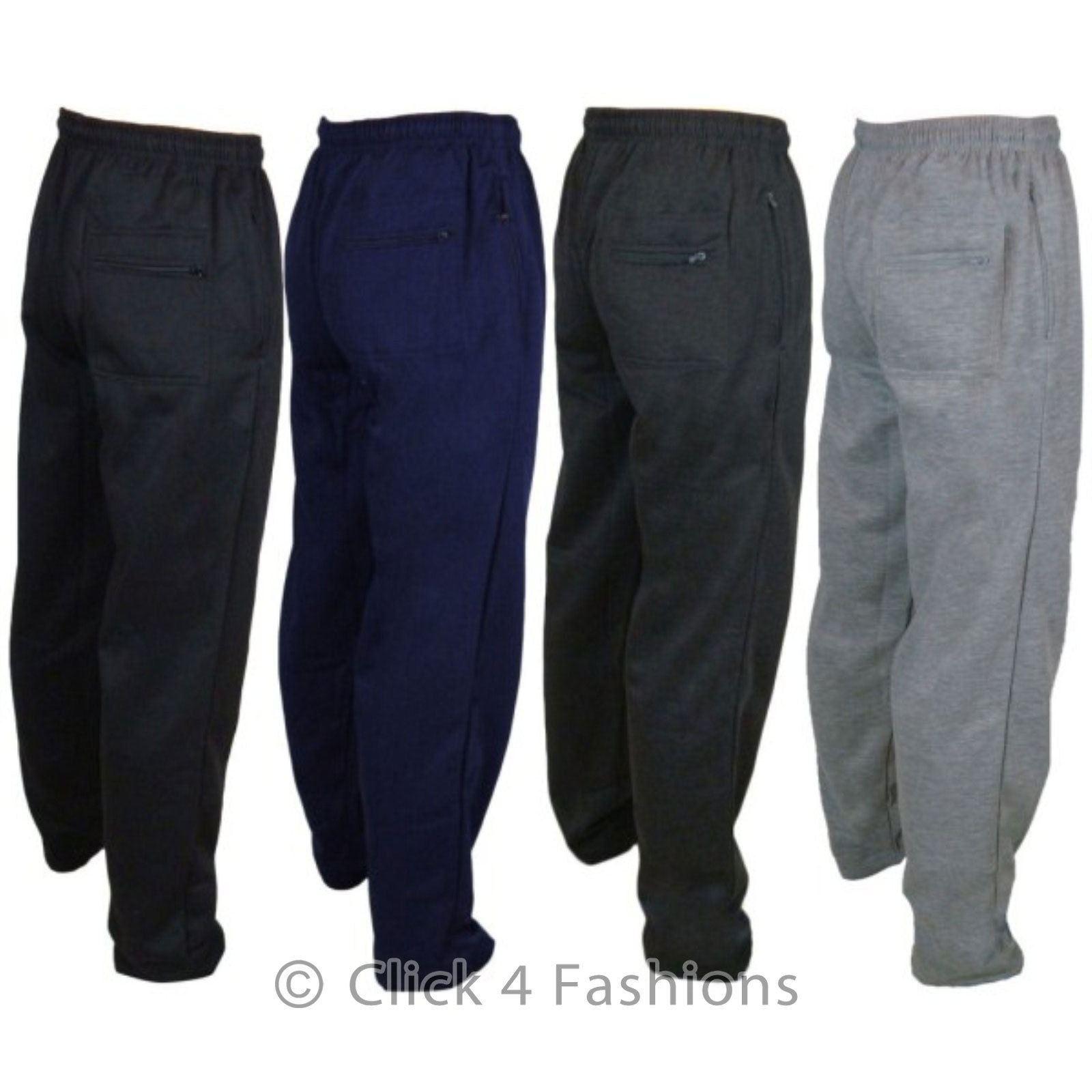 NEW MENS JOGGERS JOGGING TRACKSUIT BOTTOMS TROUSERS PANTS SIZE S to 6XL