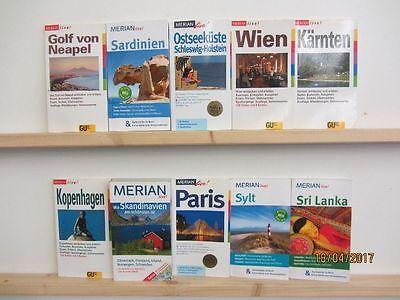 82 Merian live Bücher Taschenbücher Reiseführer  national und international