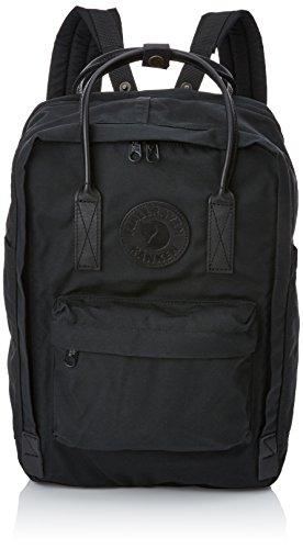 Fjällräven Kånken No. 2 Laptop 15 Unisex Rucksack, Black, 40 x 28 x 16 cm