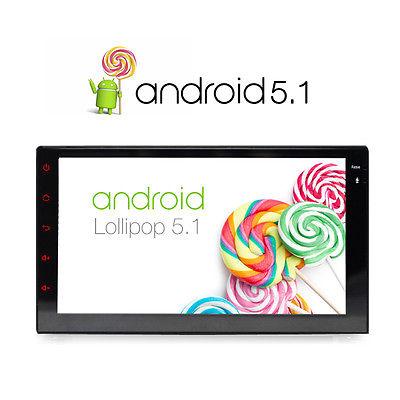 2017 16GB Doppel 2 Din Android 5.1.1 Autoradio GPS Navigation WiFi DAB+
