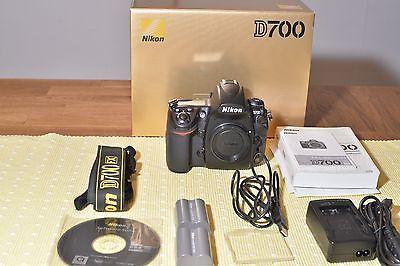 Nikon D D700 12.1 MP SLR-Digitalkamera - Schwarz (Nur Gehäuse)