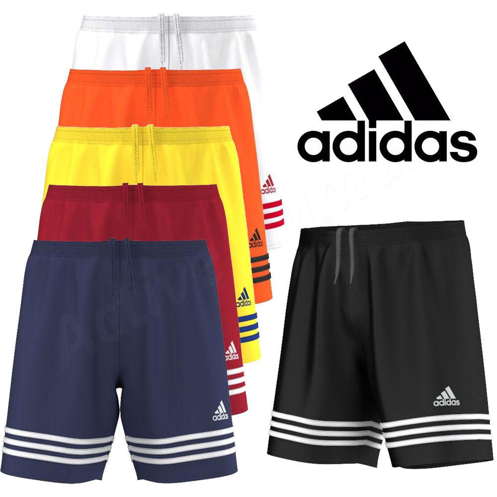 Mens Adidas Shorts Entrada Climalite Sports Football Gym Training - S M L XL XXL