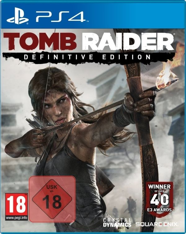Tomb Raider Definitive Edition PS4 UNCUT PS4 NEUWARE OVP Playstation 4 Spiel