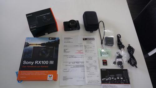 Sony DSC-RX 100 III Mark 3, inkl. Zubehörpaket, Rechnung, Garantie, OVP