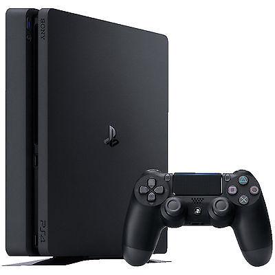 SONY PlayStation 4 Slim 500GB PS4 Neustes Modell CUH-2016 A NEU OVP Schwarz 8GB