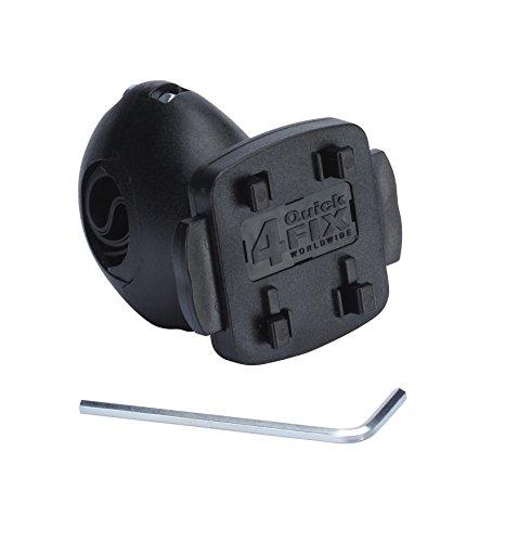 TAHUNA Fix Original Fahrradhalterung Kugelgelenk für Teasi one / one² / one³ / one³ extend / Pro / Core / SMART.T Power , schwarz
