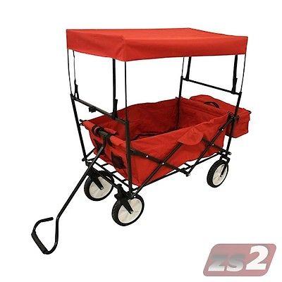 CMX Bollerwagen Klappbar Transportkarre Handwagen Gerätewagen Gartenwagen Karre