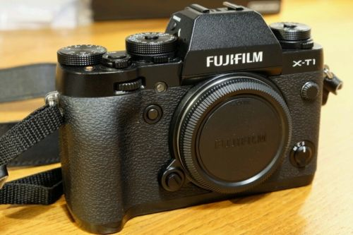 Fujifilm X-T1 Gehäuse / Body schwarz