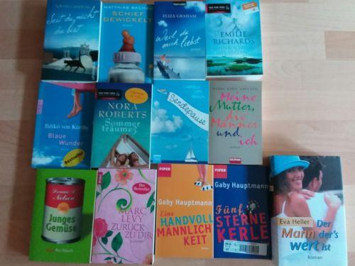 Bücherpaket 13 teilig  Frauenromane