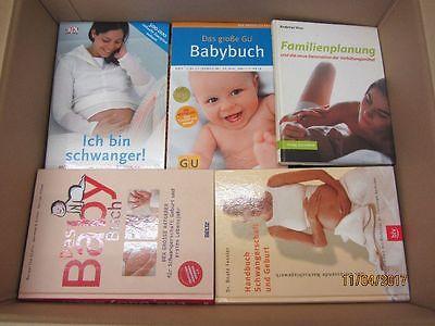 53 Bücher Elternratgeber Schwangerschaft Geburt Baby Familienplanung
