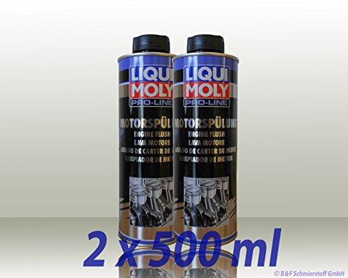 Liqui Moly 31015597 2427 Pro-Line Proline Motorspülung, 2 x 500ml