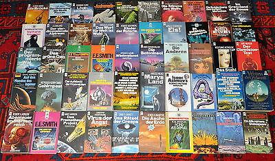 50 Science Fiction Taschenbücher / SF Paket 4