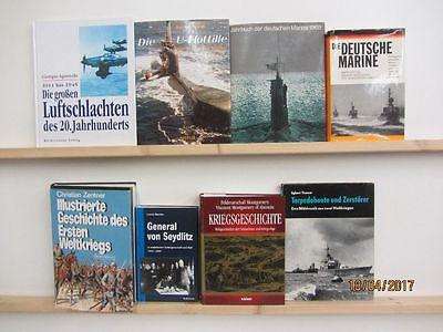 34 Bücher Militärgeschichte Bundeswehr Marine Kriegsgeschichte Wektkrieg