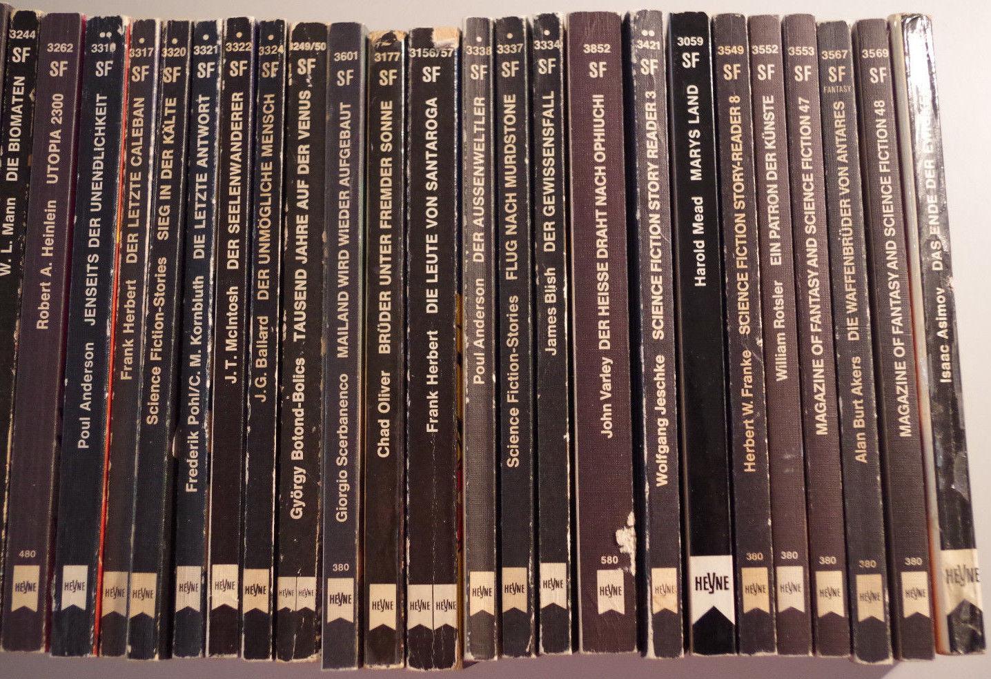 Posten Science Fiction Taschenbücher Heyne Verlag